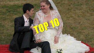 TOP 10 Worst wedding dresses
