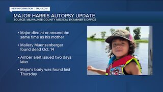 Major Harris killed around the same time as his mother, medical examiner believes