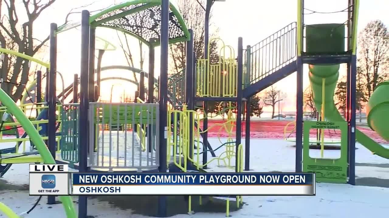 New playground opens
