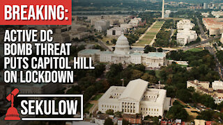 BREAKING: Active DC Bomb Threat Puts Capitol Hill on Lockdown