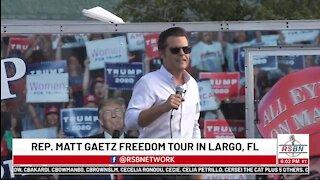 Rep Matt Gaetz Reveals His Non-PC Truths