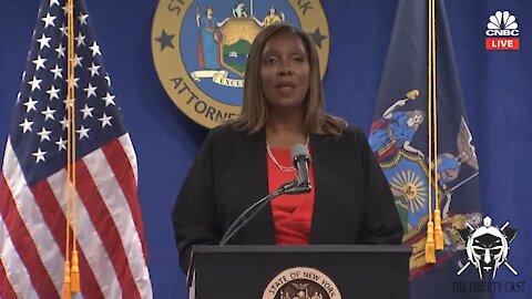 NY Attorney General Announces Results Of Investigation In To Gov. Cuomo