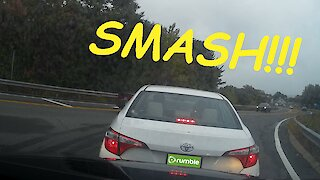 Overconfident driver causes accident