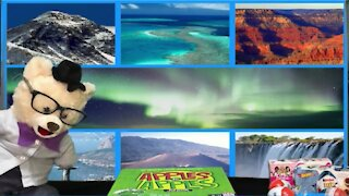 Explore Natural Wonders of the World with Chumsky Bear | Earth Science | Educational Videos 4 Kids
