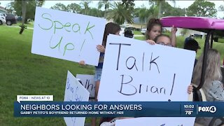 Neighbors calling for Brian Laundrie to share details about Gabby Petito's disappearance