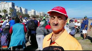 SOUTH AFRICA - Cape Town - Wheel-walk (Video) (v7C)