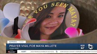 Prayer vigil to be held for Maya Millete