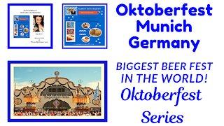 OKTOBERFEST Munich GERMANY # BIGGEST BEER FEST in the world part 1