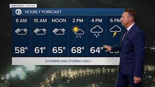7 First Alert Forecast 5am Update, Thursday, October 21