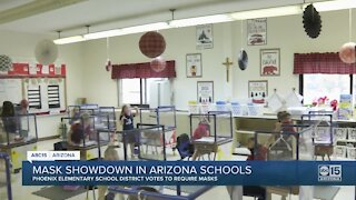 Phoenix Elementary School District latest to vote to require masks indoors