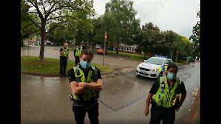 Man questioned by multiple officers in York
