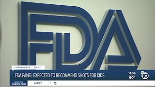 FDA advisory panel expected to recommend shots for kids