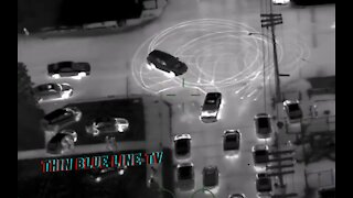 Michigan State Police Pursue Illegal Street Racer... Infrared Donuts... Dodge Challenger