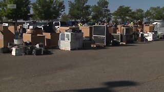 Denver7 Electronics Recycling Drive, Sept 18 Live at 9AM Interview with Nidal Allis