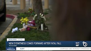 New eyewitness comes forward after fatal fall at Petco Park