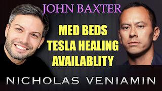 John Baxter Discusses MED BEDS, Tesla Healing Availability with Nicholas Veniamin