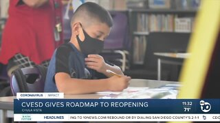 CVESD releases roadmap to reopening schools