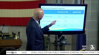 Nebraska reinstating COVID-19 hospitalization dashboard