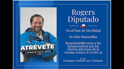 ¿Por qué soy candidato a diputado? Para terminar con la dictadura sanitaria.