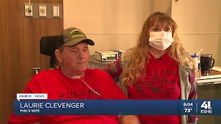 COVID-19 patient gets surprise sendoff after 10 months in the hospital