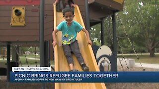 Picnic Brings Refugee Families Together