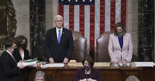 Congress Reconvenes,Count Votes & Makes Biden Victory Official Overnight!