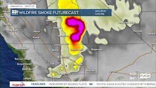 Bad air impacting Kern County