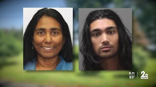 Son charged with Tracys Landing woman's murder