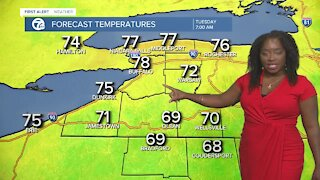7 First Alert Forecast, 12 p.m. Update, Monday, August, 9