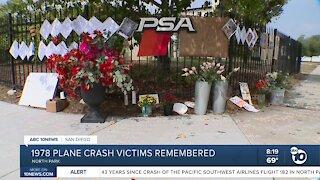 1978 plane crash victims remembered