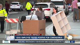 SDSU employee tests positive for coronavirus
