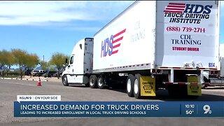Increased demand for truck drivers amid coronavirus pandemic