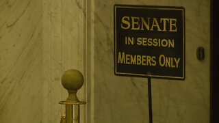 The scramble as the state session wraps up