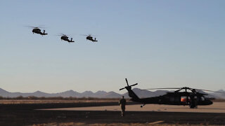 AZARNG Conducts Wildfire Training (Extended Version)