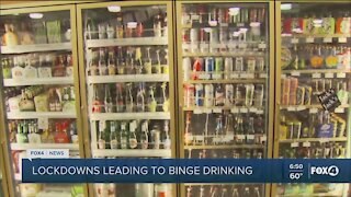 Lockdowns causing higher alcohol consumption