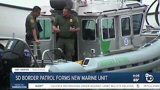 Border Patrol's newly formed marine unit