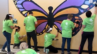 FPL volunteers spruce up local Boys and Girls Club