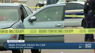 Phoenix PD investigating a deadly shooting near 85th Ave and McDowell