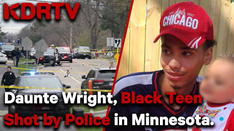 Black teen shot by police in Minnesota for allegedly having too much Air Fresheners in his car