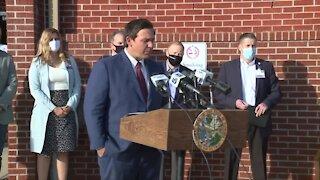 DeSantis hits his midterm mark as Florida struggles with unprecedented pandemic