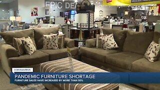 Pandemic furniture shortage