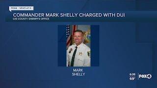Commander on leave after DUI
