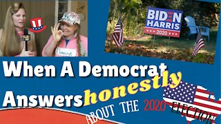 *HILARIOUS* When A Democrat Answers HONESTLY About The 2020 Election *PARODY*