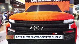 2019 Detroit Auto Show opens to public