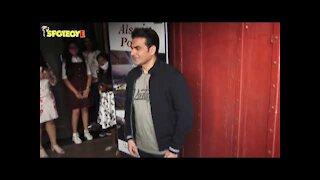 Salman khan snapped on Arbaaz Khan&rsquo