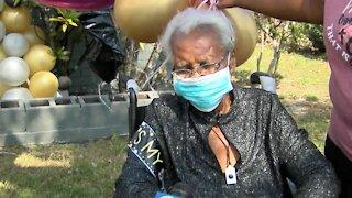 Boynton Beach woman celebrates 97th birthday