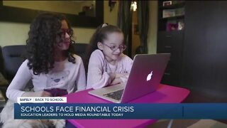 Schools face financial crisis amid ongoing pandemic