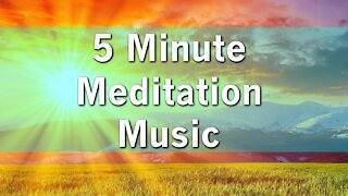 5 minute body mind relaxation meditation music