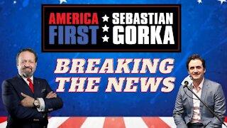 Breaking the news. Breitbart's Alex Marlow with Sebastian Gorka on AMERICA First