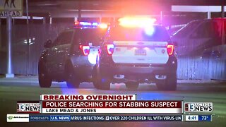 Police searching for stabbing suspect